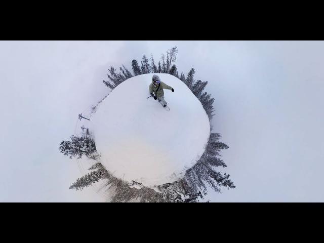 «Гора Соболиная» в Байкальcке | Tiny Planet