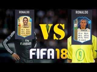 FIFA 18 Ronaldo Luís Nazário de Lima VS Cristiano Ronaldo dos Santos Aveiro