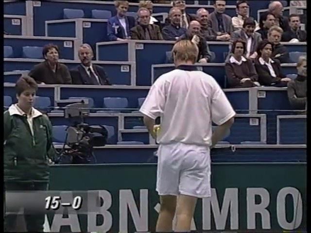 Rotterdam 1999 QF Kafelnikov vs Federer
