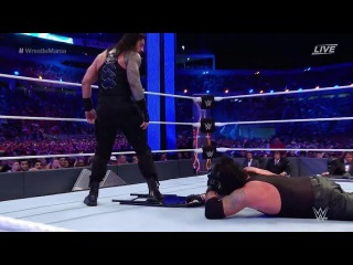 (Wrestling Premium) The Undertaker vs Roman Reigns WRESTLEMANIA 33 Full Match