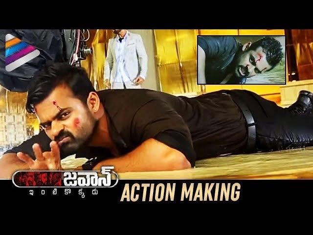 JAWAAN Movie ACTION MAKING Sai Dharam Tej Mehreen Pirzada Thaman S Telugu Filmnagar