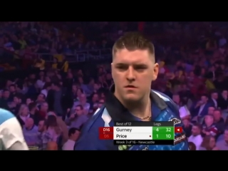 Daryl Gurney vs Gerwyn Price (2018 Premier League Darts / Week 3)