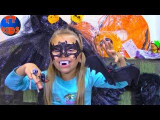 Шопинг на Хэллоуин с Ярославой   Shopping for Halloween Costumes Family Fun kids playtime