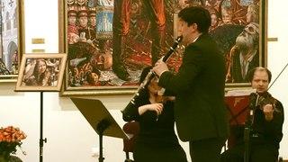 И. Брамс - Квинтет для кларнета и струнных, в перелож. для кларн. и стр. орк. Солист: Михаил Меринг