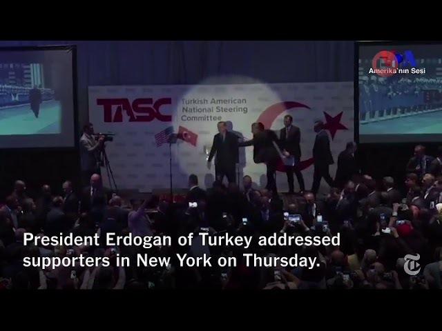 Presiden Erdogan diteriaki Teroris Lihat apa yg terjadi selanjutnya 21 09 2017