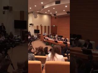 Выступление Андреева Андрея в ГД 25 сентября 2017г. перед Жириновским В.В.