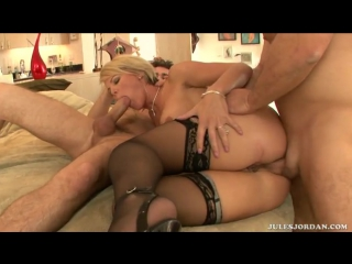 Kayla synz -dirty rotten mother fuckers [3 way, anal, ass to mouth, blondes, blowjobs, double penetration, facial, milf]