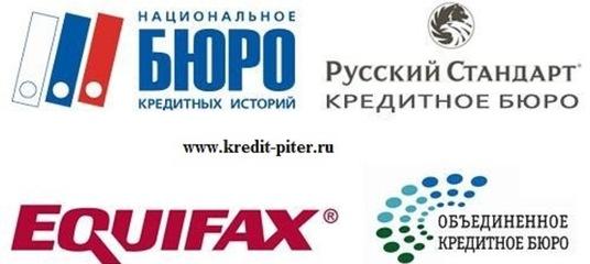 Бюро кредитных историй спб официальный