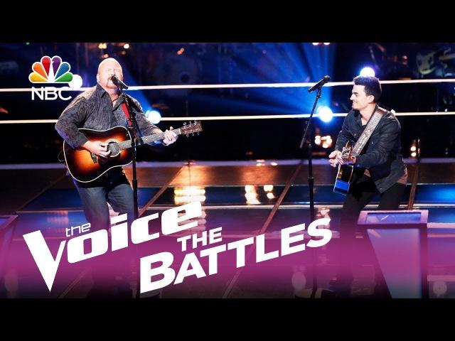 Шоу «Голос» США 2017. - Рэд Марлоу против Райана Скриппса с песней «Ловля в темноте». — The Voice USA 2017 - Red Marlow vs. Ryan Scripps Fishin in the Dark (оригинал Nitty Gritty Dirt Band)