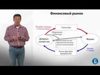 6.2. Модель кругооборота. Финансовый рынок. Экономика.