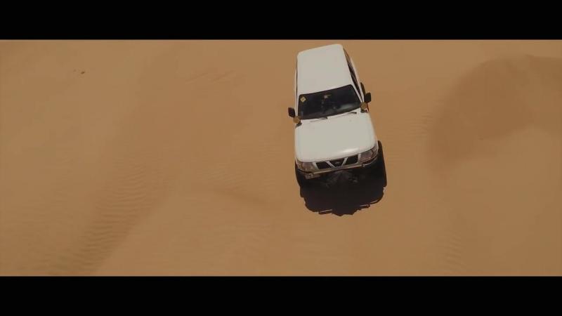 Desert fun drive in a Nissan Patrol -- Knight Riders team смотреть онлайн видео — HDxit.ru