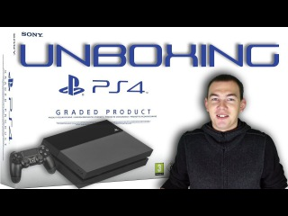 РАСПАКОВКА PS4 GRADED PRODUCT (REFURBISHED) UNBOXING