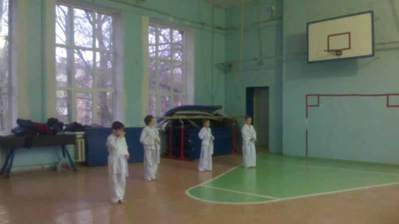 Аттестация по Taekwon do Оджагов Сергей