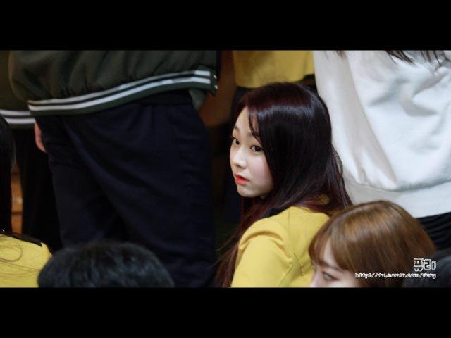 180208 구구단 gugudan 미나 서울공연예술고등학교 졸업식