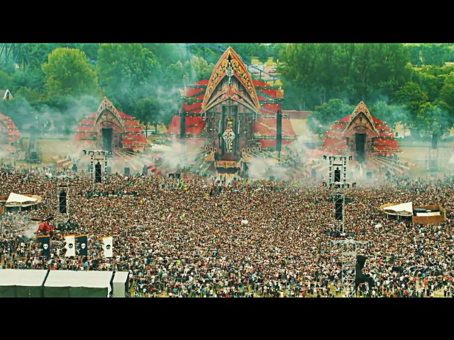 Defqon 1 Earthquake Crowd Control Left To Right