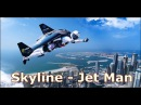 Rayan Myers Jetman Dubai Skyline Ив Росси Yves Rossy и Винс Reffet – покорители неба в Дубае