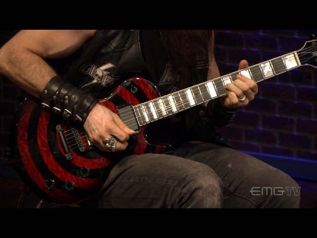 Zakk Wylde performs Tears of December on EMGtv