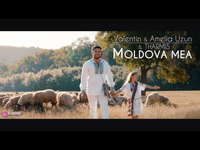 Amelia Valentin Uzun Tharmis - Moldova Mea (Official Video)