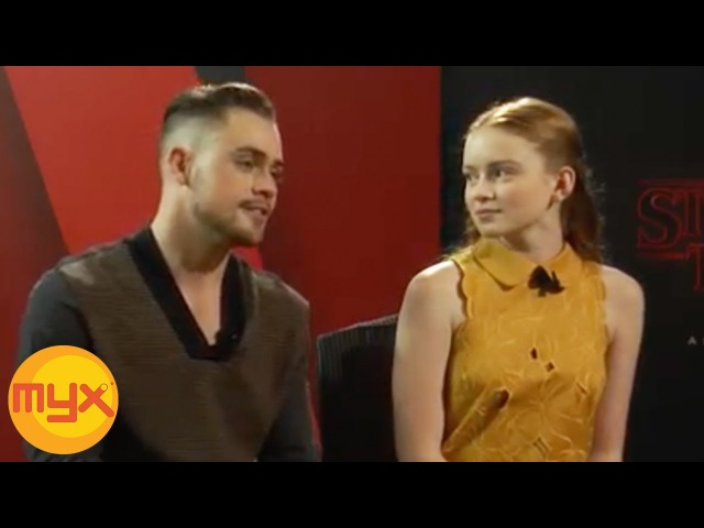 MYXclusive Interview With STRANGER THINGS New Cast SADIE SINK And DACRE MONTGOMERY
