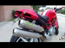 Arrow Pro-Racing Titanium full exhaust - Ducati Monster S2R 800 - idle, revs, test ride