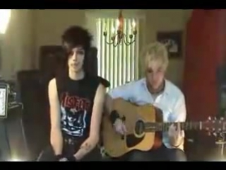 Andy Biersack  - The Morticians Daughter Rare video