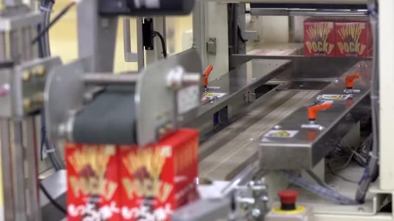Производство палочек Pocky