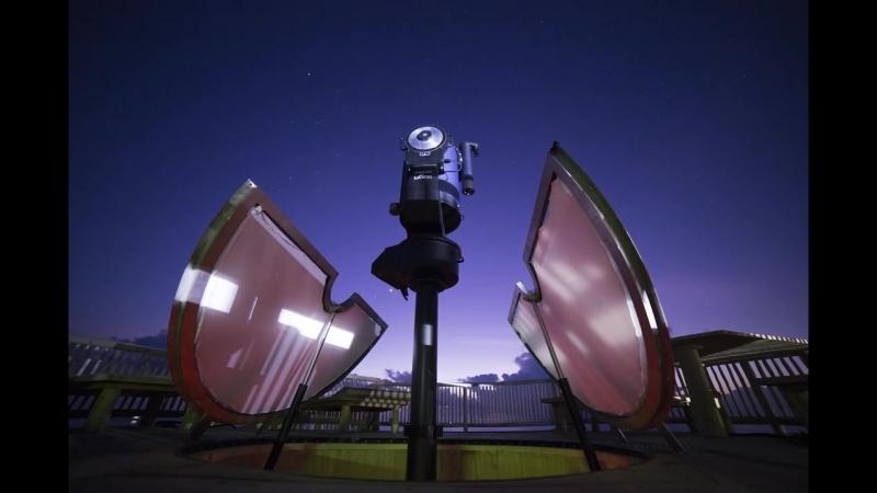 Eleos the largest telescope in the Maldives at Soneva Jani
