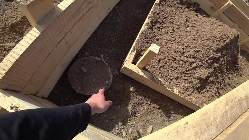 Ленточный фундамент 13 часть свайно-ростверковый