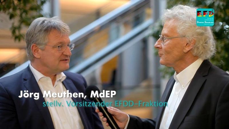 Hans Hermann Gockel Jörg Meuthen zur Fragerunde!