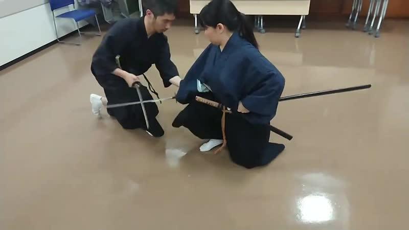 Tenshin ryu Hyoho 古武術 天心流兵法