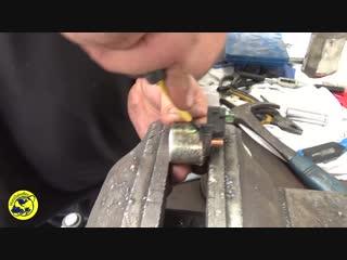 Ремонт силового реле стартера мотоцикла