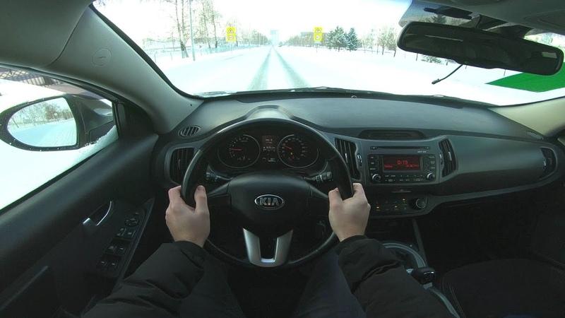 2014 KIA Sportage 2 0L 150HP G4NU POV TEST DRIVE