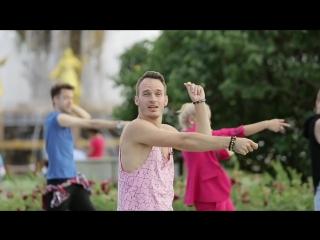 Танцевальный флэшмоб для фестиваля Вдохновение- учим движения!