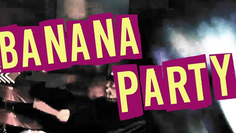 Banana Party official video (LONG VERSION) by the GO GO RILLAS Surf Garage Monkey Rock!