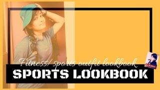 Sports Lookbook l Fitness/sports outfit lookbook l Tomboy lookbook l Amie ka pitara