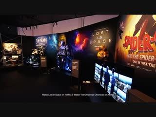 Стенд Sony на CES 2019, телевизоры BRAVIA линейки MASTER Series