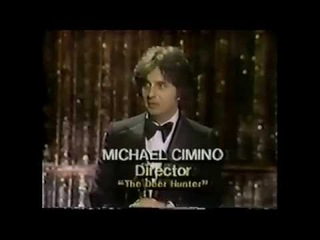 Oscar 1979 - Best Director for Michael  Cimino - presented by Ali McGraw and Francis Ford Coppola