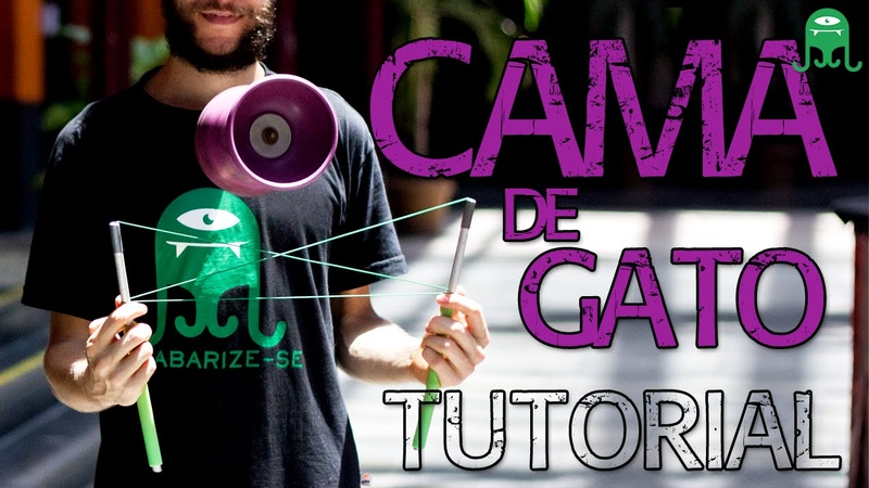 Cama de gato Cat's cradle Diabolo tutorial