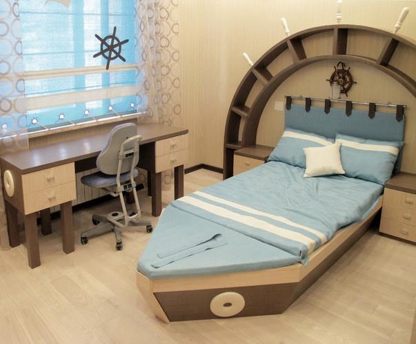 Дизайн интерьера в морском стиле, изображение №9