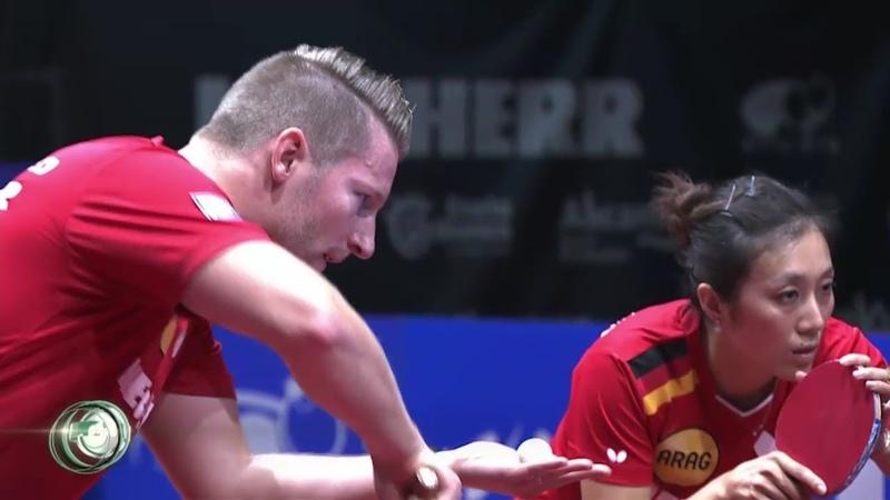Ruwen Filus Han Ying vs Stefan Fegerl Sofia Polcanova ETTC 2018 MX FINAL