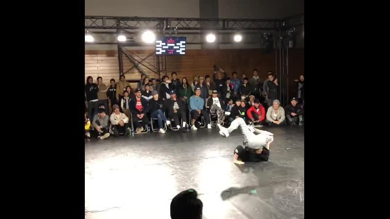 BBoy Shoya (Mortal Combat Crew) at Аrk League 2019.