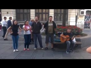 Сербы потрясно поют русские песни
