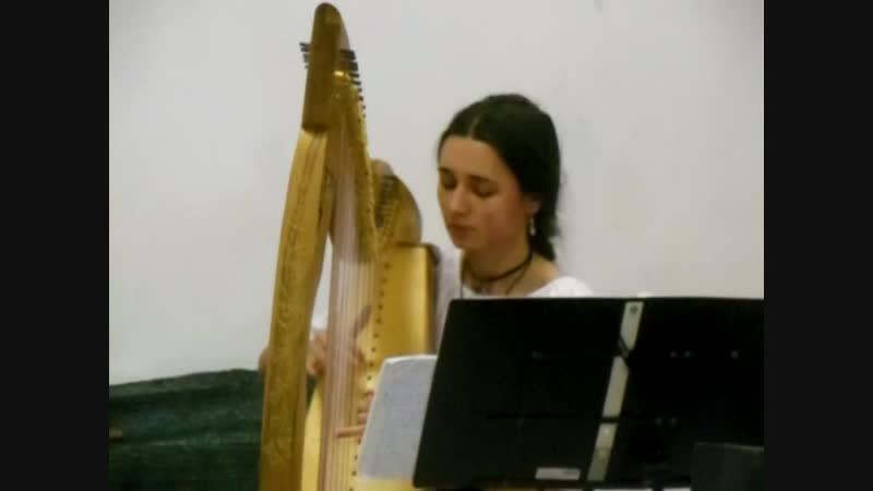 Nastasya Lever Harp Песенка про малютку Ниеле J R R Tolkien