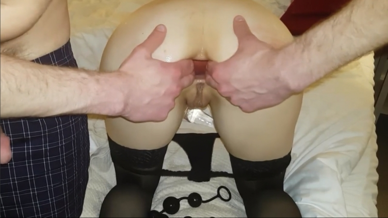 Anal slut get asshole stretched and fucked, Amateur Big Dick Hardcore Toys Rough Sex gape inflatable buttplug