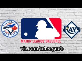 Toronto Blue Jays vs Tampa Bay Rays      MLB 2018