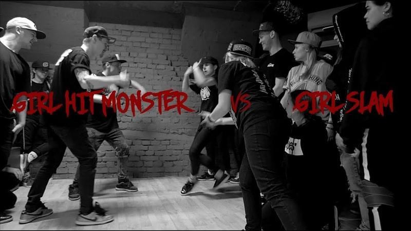 Girl Hit Monster vs Girl Slam || MM SESSION || BUCKALITY 2