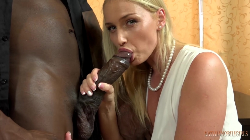 Kathia Nobili Girls - To keep your  wife must suck your boss's BLACK COCK!!!