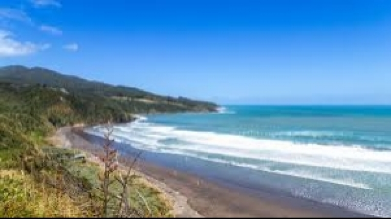 Whangarei New Zealand - View of the Ocean