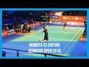 MS | Full Match Momota (JPN) vs Ginting (INA) Denmark Open 2018 NICE ANGLE