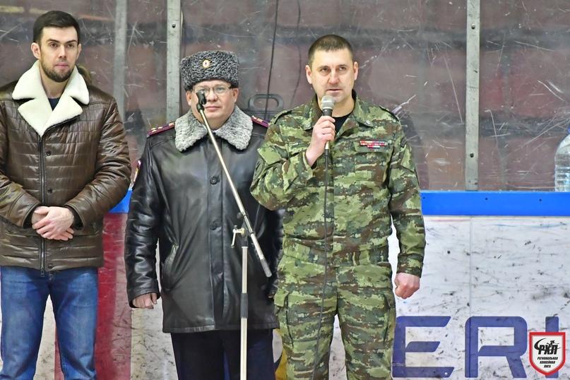I хоккейный марафон среди команд силовых структур, посвященный Дню защитника отечества, изображение №8